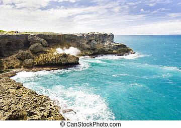 North Point, Barbados, Caribbean - North Point; Barbados;...