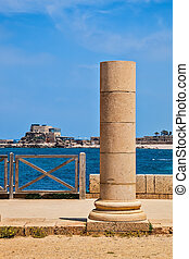 Ancient column from Byzantine period - Ancient column from...