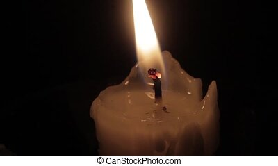 Searing flames wick candles - Searing flames wick of a...