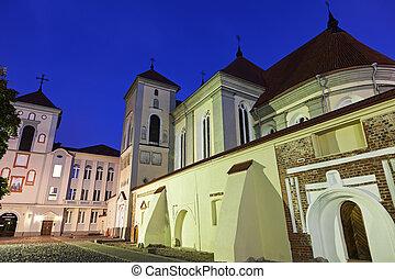 Kaunas Priest Seminary in Kaunas, Lithuania.
