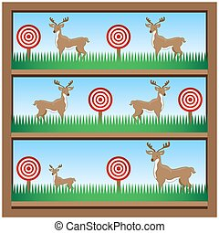 Deer Hunting Shooting Gallery