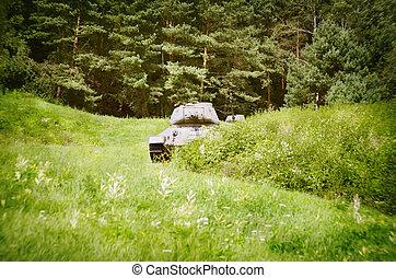 Tanks in Slovakia Memorial Of The Dukla Pass Battle - Tanks...
