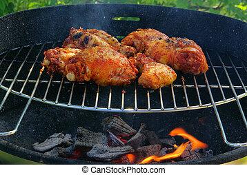 grilling chicken 04