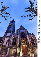 Saint-Germain, igreja, em, amiens,