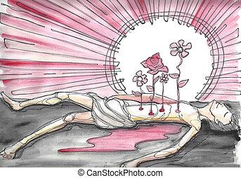 殉教者 イラストとクリップアート(216)