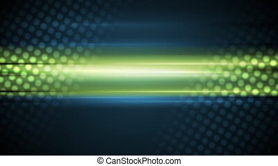 Dark glow green blue video animation - Dark glow green blue...