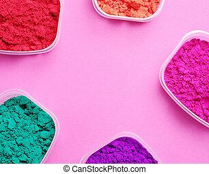 Powder - Celebration. Powder for Holi festival