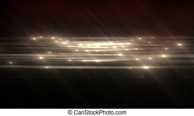 Warm Abstract Particle Effect Flashing Light VJ Background -...