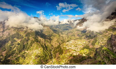 Curral das freiras, Madeira - Curral das freiras view from...