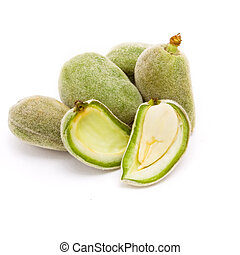 Bitter Almonds - Green Almonds also known as Bitter Almonds...