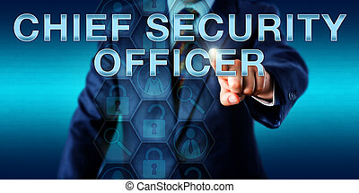 Executive Pushing CHIEF SECURITY OFFICER - Corporate...