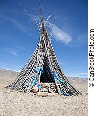 Buddhism and Shamanism in the Mongolian desert