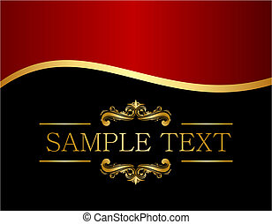 Luxury background for design - Vector luxury background for...