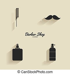 Abstract barber objects