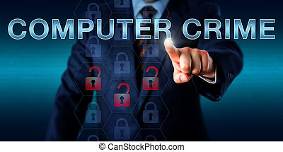 Forensic Investigator Pushing COMPUTER CRIME - Forensic...