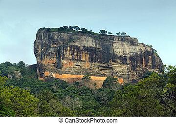 Sigiriya Rock Fortress In Sri Lanka