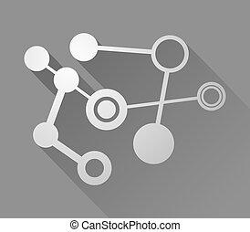 tech figure symbol - Creative design of tech figure symbol