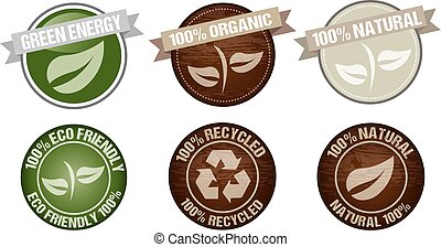green icon label vector