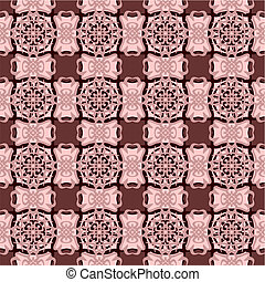 Cream pattern - Decorative pattern of cream colorAll of...