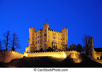 Castle Hohenschwangau in Bavaria, Germany