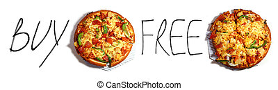 Pizza buy one get one free - Pizza Promotion buy one get one...