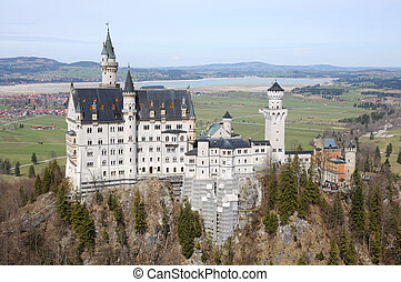 Amazing Neuschwanstein Castle in Bavaria, Germany