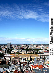 Panorama view of Riga - Panorama view of Riga, capital of...