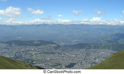 Time Lapse Movie Quito Capital of Ecuador from above