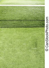 paddle tennis green grass camp field texture - paddle tennis...