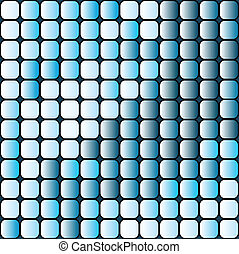 Abstract squares seamless in blue colors