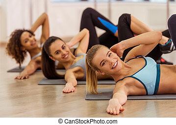 女孩, 類別, 健身
