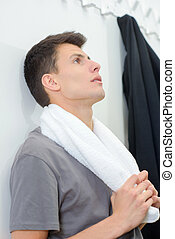 disappointed sportsman