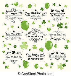 Vector St Patricks Day Design - Vector Illustration of Saint...