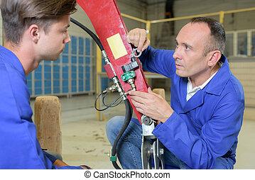 fixing machine