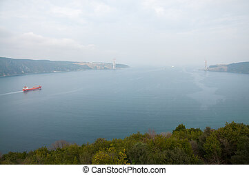Bosphorus view from the mountain