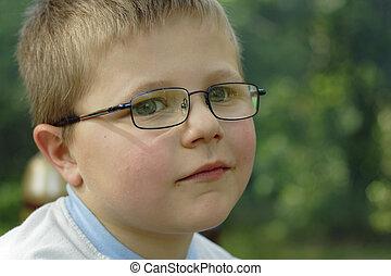 small boy, the outdoor photo