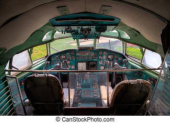 cockpit - old cockpit
