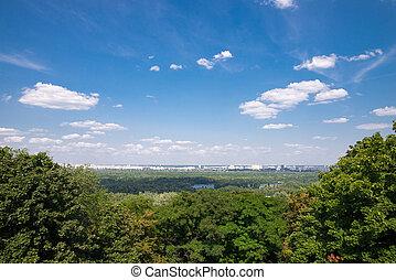 Kyiv - beautiful view of the Kyiv