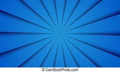 modern blue ray abstract animation background