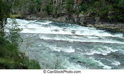 Paiva river - Paiva River, in Arouca municipality, Aveiro,...