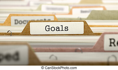 Goals on Business Folder in Catalog - Goals on Business...