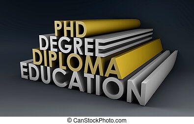 Higher Learning in 3d Degree Diploma and Phd