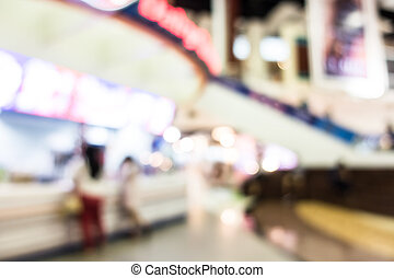 Abstract blur superstore and shopping mall - Abstract blur...