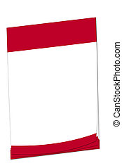 Post-it note Japanese flag