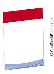 Post-it note Luxembourg flag
