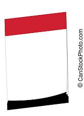 Post-it note Iraq flag