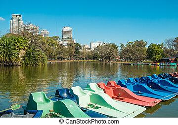 Palerme, parcs, Buenos, Aires,
