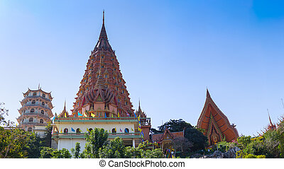 Buddhist Temple names quot;Wat Tham Suaquot; and quot;Wat...