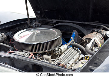 engine of the American car