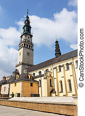 Jasna, Gora, sanctuaire, dans, Czestochowa, Pologne,